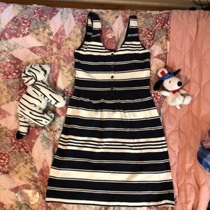 J.CREW stripe dress
